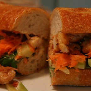 Dinners for Two and a Half: Vietnamese Prawn Sandwiches