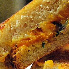 Grilled Cheese and Squash Sandwich